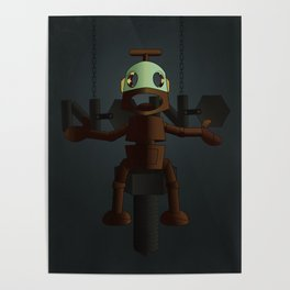 Nono the robot (reloaded) Poster