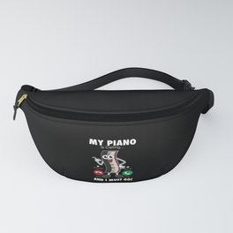 Piano - My Piano Is Calling Fanny Pack