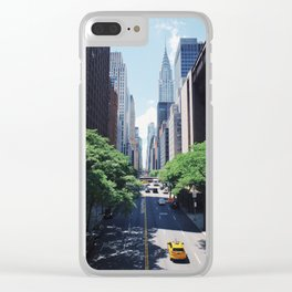 New York Street Clear iPhone Case