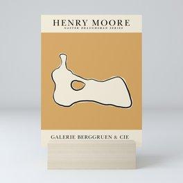 Poster-Henry Moore 3. Mini Art Print
