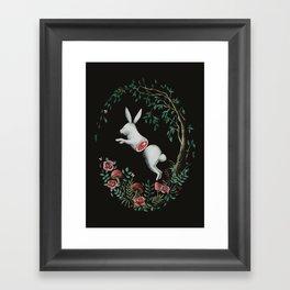 Jump Apart Framed Art Print