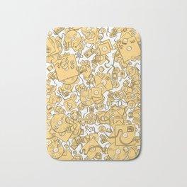 Technology! - Yellow Bath Mat