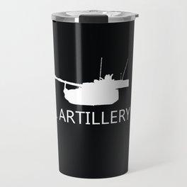 Field Artillery: M109A6 Paladin Travel Mug