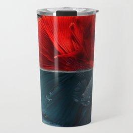 Red Siamese Fighting by GEN Z Travel Mug
