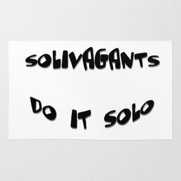 Solivagants Do It Solo Rug