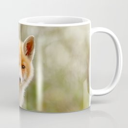 The Face of Innocence .:. Red Fox Kit Coffee Mug