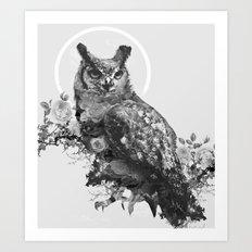 Moon Vertigo Art Print