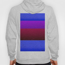 Blue Purple and Burgundy Passion Hoody