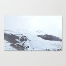 Poster montagnes enneigées