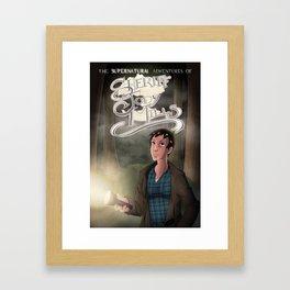 The Supernatural Adventures of Sheriff Jody Mills Framed Art Print