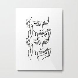 Moody Metal Print