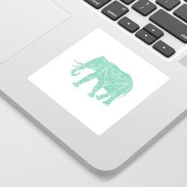 Mandala Elephant 6-22 Sticker