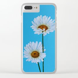 Daisy vue. Clear iPhone Case
