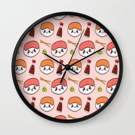 Yummy Sushi Wall Clock
