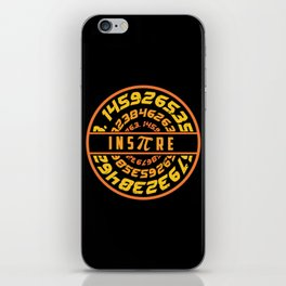 Inspire Pi | Math Science Numbers iPhone Skin