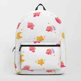 Peachy Kirby Pattern Backpack