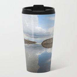 Sand and Sky  Metal Travel Mug