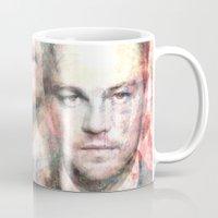 leonardo Mugs featuring Leonardo DiCaprio by Nechifor Ionut