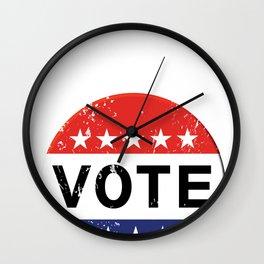 vintage political  retro Wall Clock