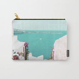 Santorini Sea Carry-All Pouch