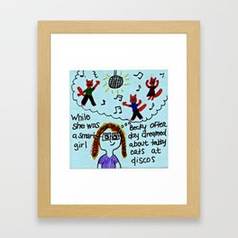 Benevolent Becky  Framed Art Print