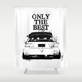 "ONLY THE BEST ""HONDA"" Shower Curtain"