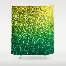 Mosaic Sparkley Texture G202 Shower Curtain