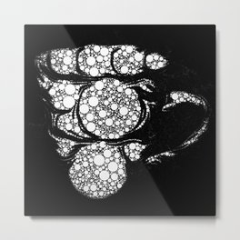 Perculated Metal Print