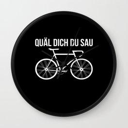 Bicycle Road Bike Wall Clock