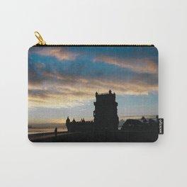 Blue sky Lisbon Carry-All Pouch