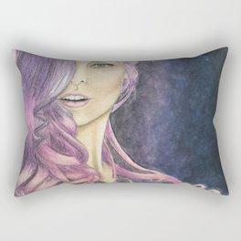 Muñeca Rosada Rectangular Pillow