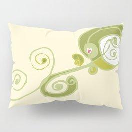Swirly Flower Too Pillow Sham
