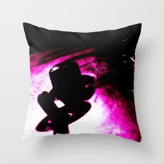 Voodoo Guitar Throw Pillow