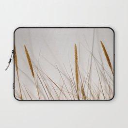 Beach grass | Calm natural fine art print | Netherlands Laptop Sleeve