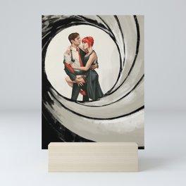 Mr & Mrs BuckyNat Mini Art Print
