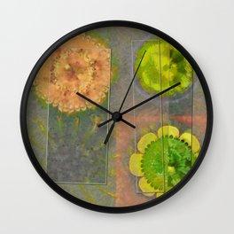 Wheresoever Balance Flower  ID:16165-142355-00811 Wall Clock