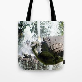 JC Nichols Fountain Indian Tote Bag
