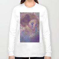 princess leia Long Sleeve T-shirts featuring Princess Leia  by Mara Valladares