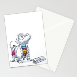 #DogDays18 Mild Mannered Stationery Cards