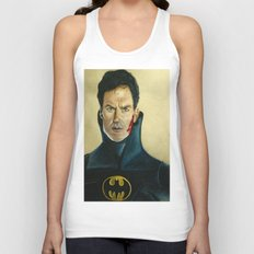 The Caped Crusader Unisex Tank Top