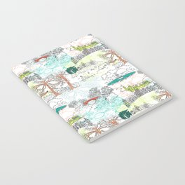 NYC Parks - Toile de Jouy Notebook