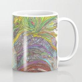 Om Dragon original (cold blue version) Coffee Mug