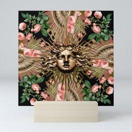 Rose Garden Gate Mini Art Print
