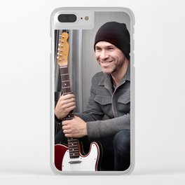 Salt Spring Smile Clear iPhone Case