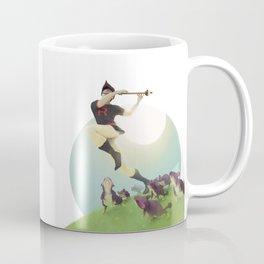 Viridian Flutist Coffee Mug