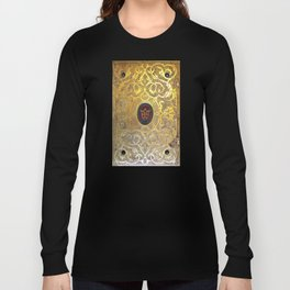 Golden Swirls Book Long Sleeve T-shirt