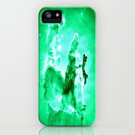 NEbula. : Green Pillars of Creation iPhone Case