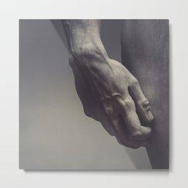 David's Hand Metal Print