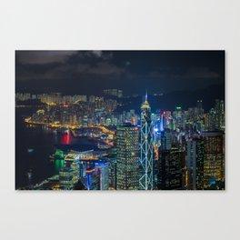 HONG KONG 27 Canvas Print