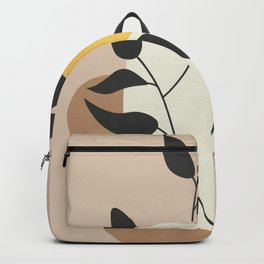 Minimalist Boho Plant Backpack